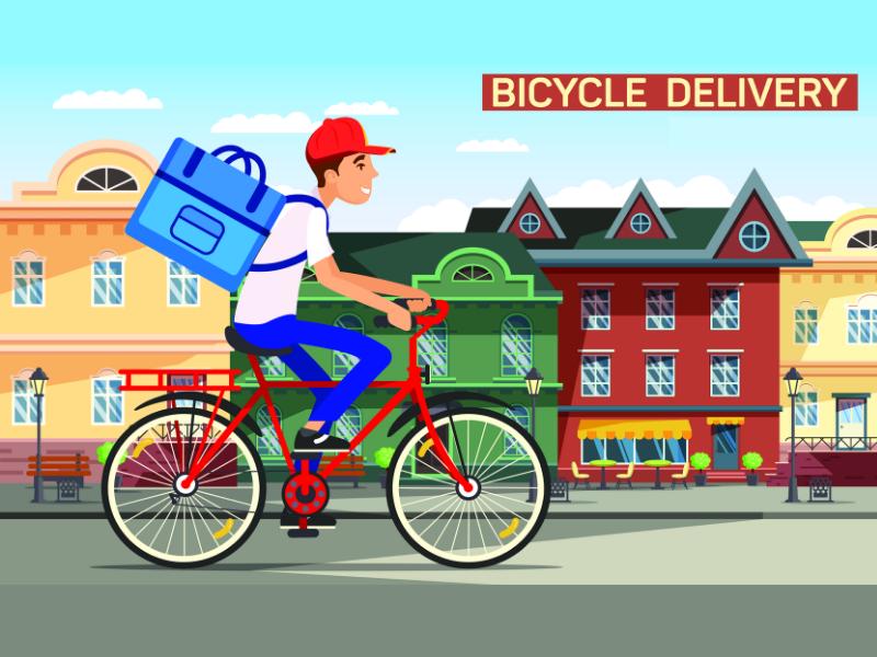 Livraison de repas à vélo la requalification de la relation en contrat de travail